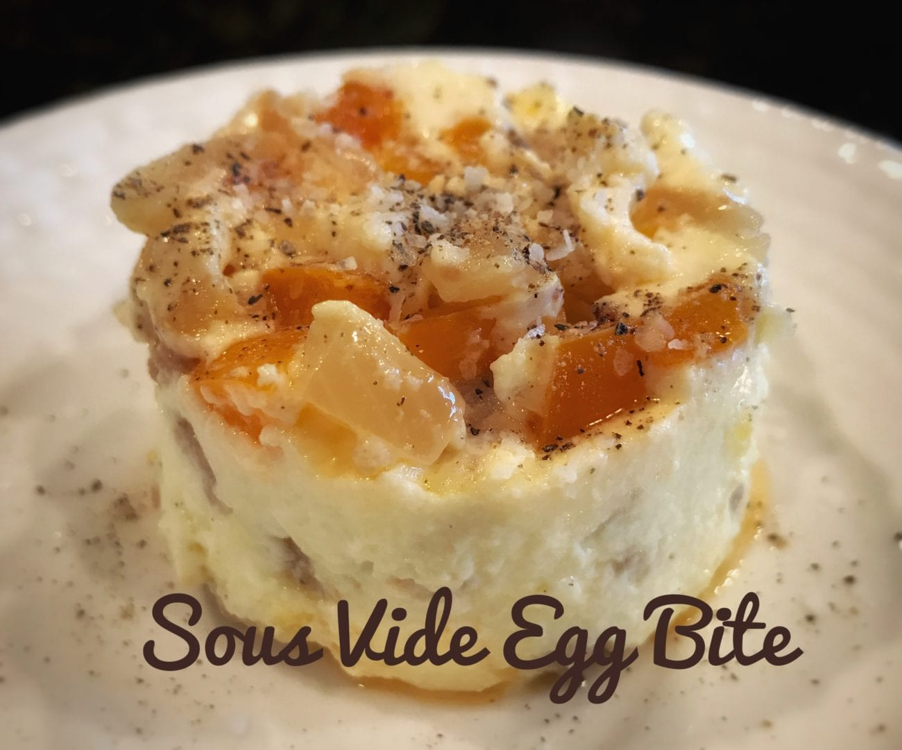 Becky's Sous Vide Custardy Egg Bite