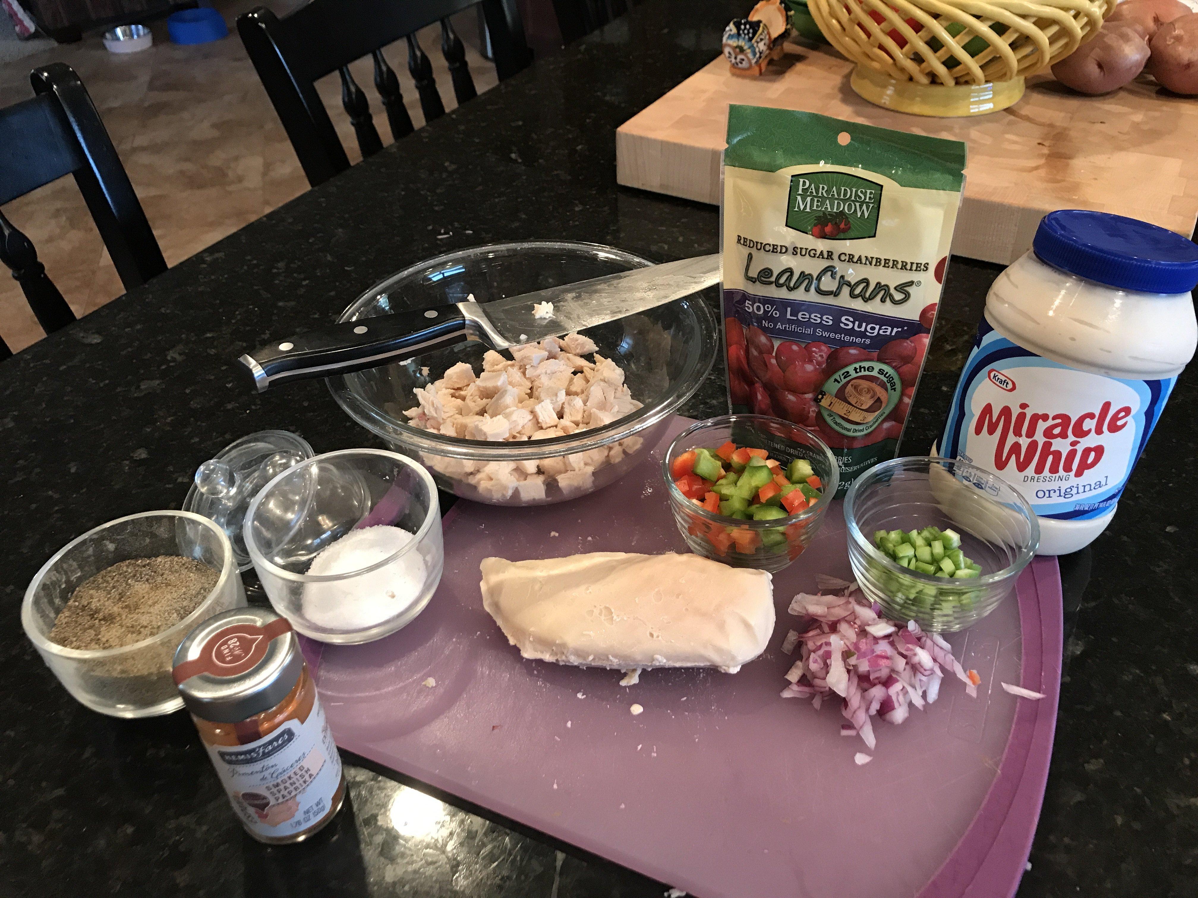 Chicken Salad Ingredients (SV)