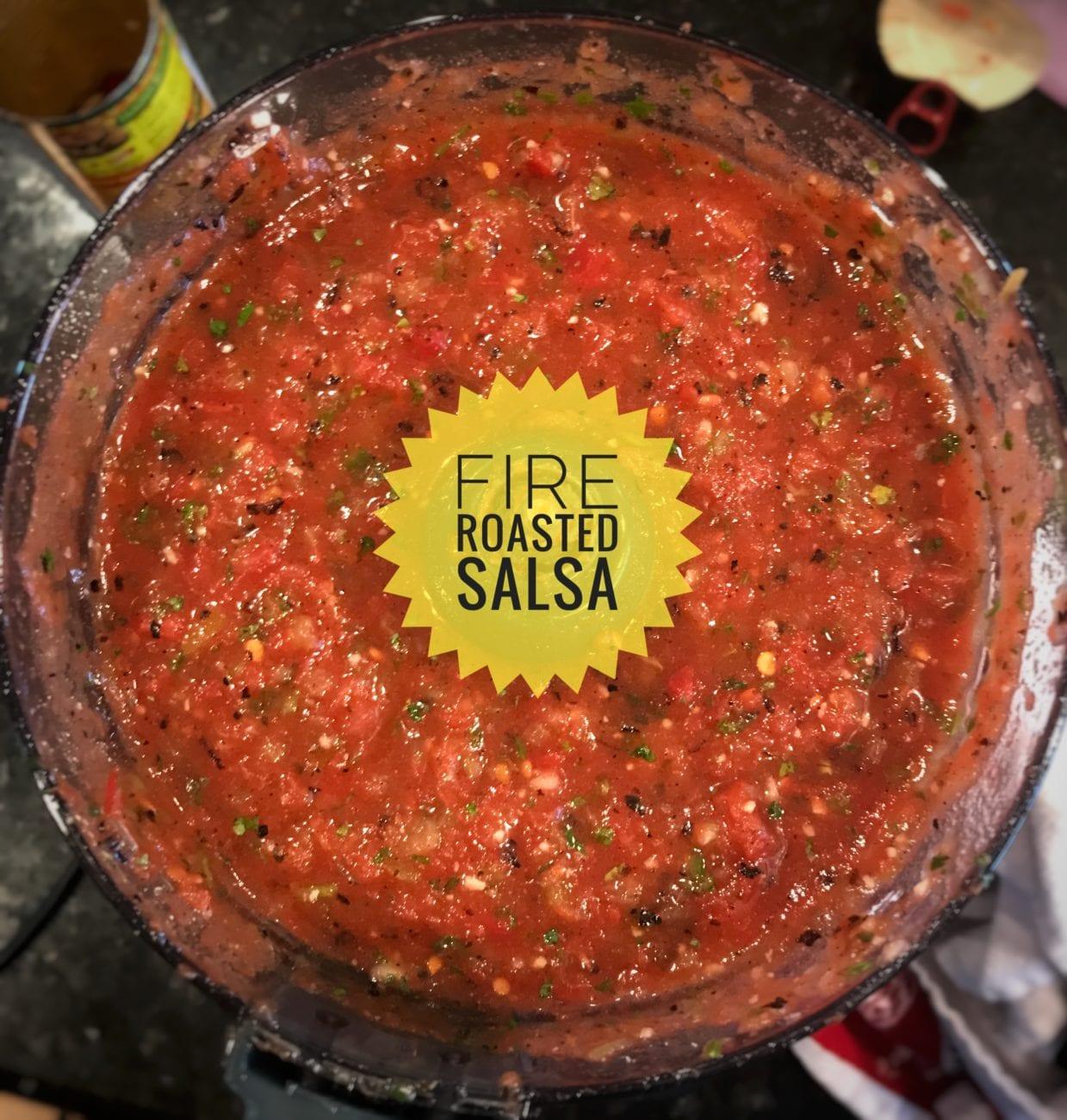 Fire Roasted Restaurant Quality Salsa